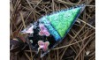 3-Tone Dichroic Glass Arrowhead
