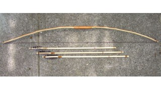 Osage Orange Kids Bow and 3 Arrows (NEW!)
