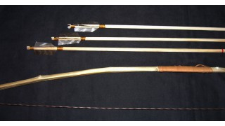 Kid's Bow & 3 Arrows (SOLD)