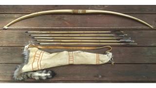 Klamath Bow, Quiver, and 5 Arrow Set