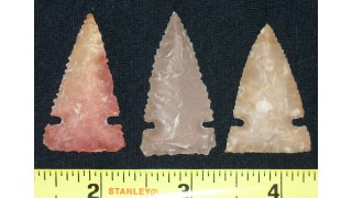 3 Flint Hunting Points (55 grains) SOLD