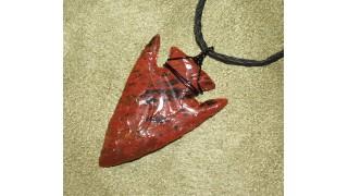 Obsidian Arrowhead Necklace NEW!
