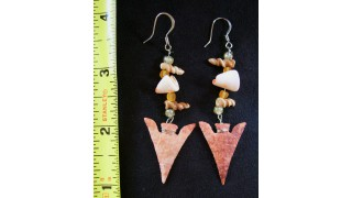 Coastal Arrowhead Earrings SOLD