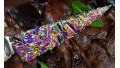 Dichroic Glass Knife with Handblown Glass Handle (SOLD)