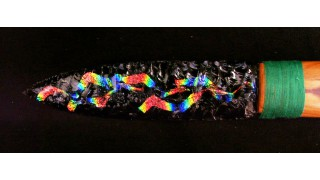 Dichroic Glass Knife 5 (SOLD)